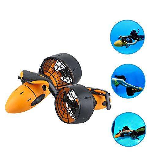 ZUZEN Impermeabile 300 W Scooter Elettrico subacqueo Acqua di Mare Dual Speed Propeller Diving Scuba Scooter Attrezzature per Sport Acquatici