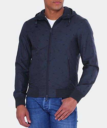 Armani Jeans Herren Jacke 3y6b206ndbz Blau