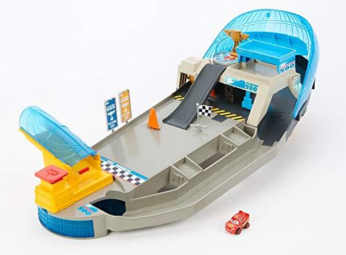 Disney - Cars- Pista Pinball Florida Racers 1 Mini Racer Incluso, trasportabile, Multicolore, FPR05