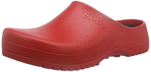 Birkenstock Classic Super-Birki, Unisex-Erwachsene Clogs, Rot (Red), 41 EU