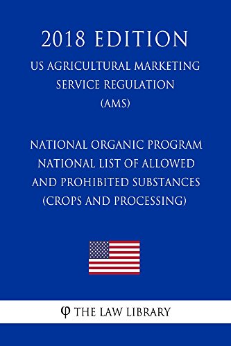 National Organic Program - National List of Allowed and Prohibited ...