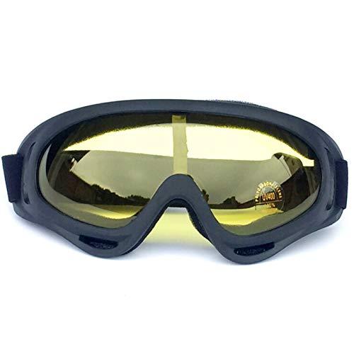 AmDxD PC Schutzbrillen Motorradbrillen Brille Skibrille Schneebrille Snowboardbrille für Skifahren...