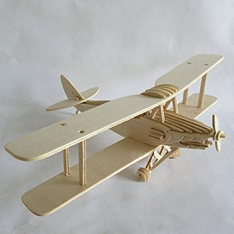 Kaden G-P 3D Jigsaw Woodcraft DIY Assembly Construction Model Plane