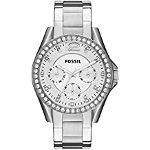Fossil Women's Analog Quartz Watch with Stainless Steel Strap ES3202