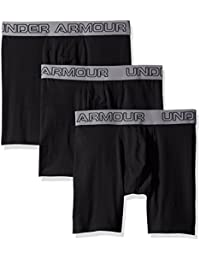 Under Armour Short en coton stretch Boxer Jock (Lot de 3)
