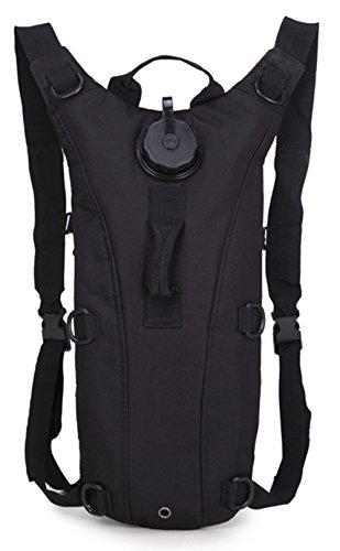 5 All Wanderrucksack Trinkrucksack Fahrradrucksack Große Kapazitäten Reisetasche Herren Damen Rucksack mit Trinkblasen-Fach wasserfester Lauf-Rucksack als Radfahr- oder Jogging-Rucksack
