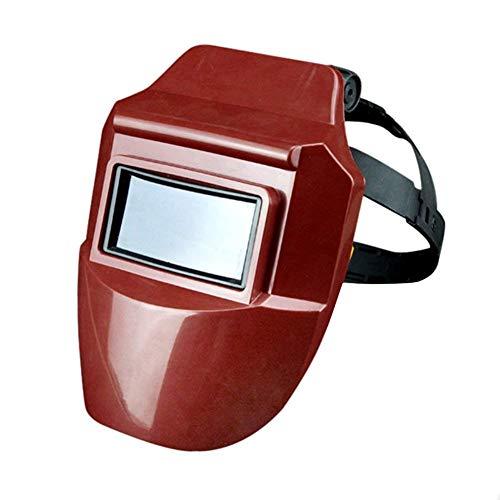 Casco de soldadura, máscara protectora profesional de oscurecimiento automático con 313 nm...