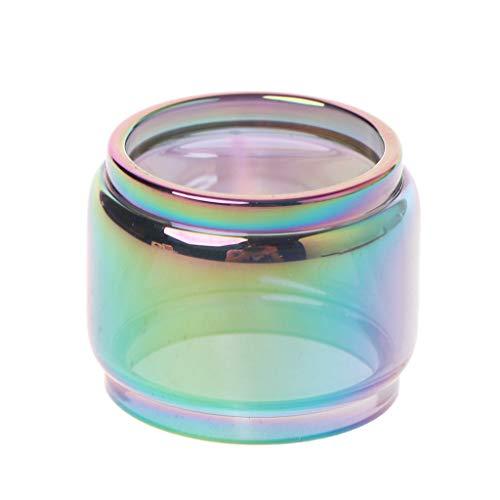 osfanersty Transparente Regenbogen Vape Glasrohr Glas Tank Elektronische Zigarette Zubehör Für TFV12 Baby Prince Vaporizer Zerstäuber