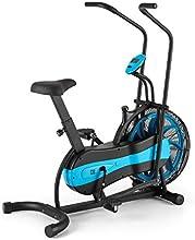 CAPITAL SPORTS Stormstrike 2k Bicicleta elíptica ergómetro (Resistencia regulación contínua, entrenamiento brazos y piernas, monitor integrado, altura regulable, hasta 120 kg) – negra azul