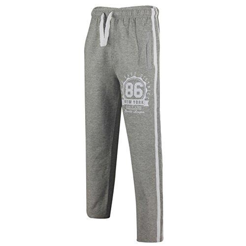 Jack & Danny's -  Pantaloni sportivi  - Uomo NYC86-Light Grey