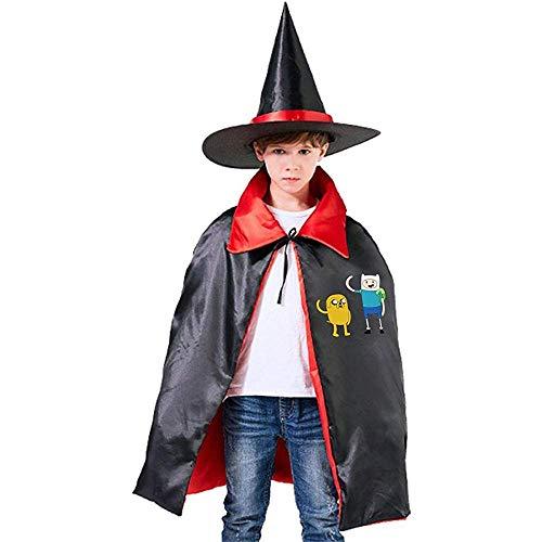 Abenteuer Zeit Unisex Kinder Kapuzen Mantel Cape Halloween Party Dekoration Rolle M