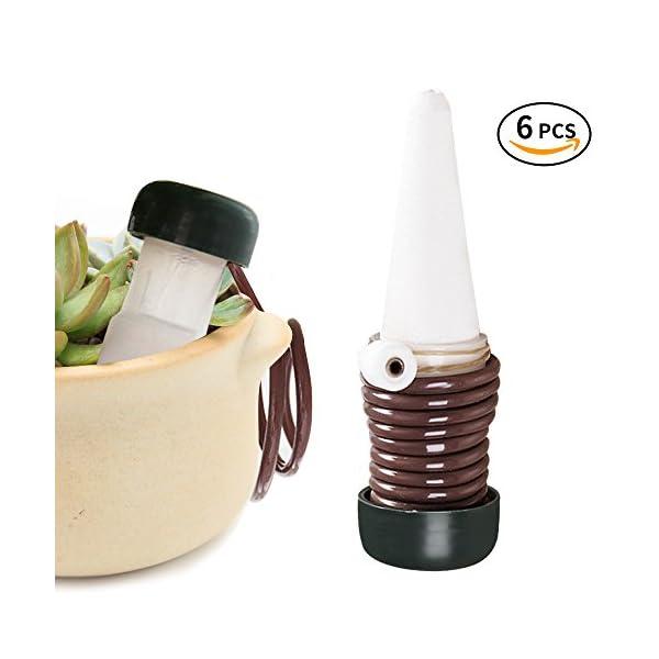Innislink Auto Irrigazione A Goccia 6 Pezzi Irrigazione Vasi Irrigazione Automatica Per Le Piante In Vaso Bonsai Impianto Fiore Indoor Per