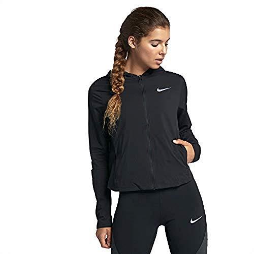 Nike Damen Jacke Shield, Black/Reflective Silver, M, 890106-010