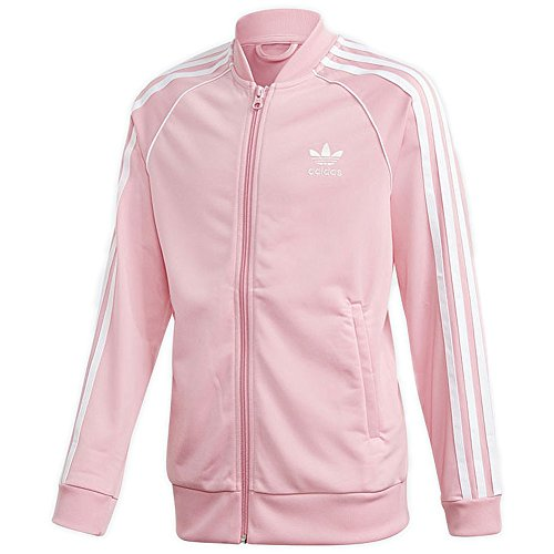adidas Mädchen SST Originals Jacke, Light Pink, 152