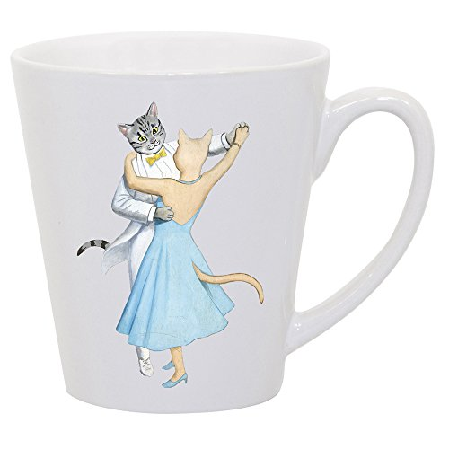 The Great Catsby Beautifully Illustrated Latte Mug