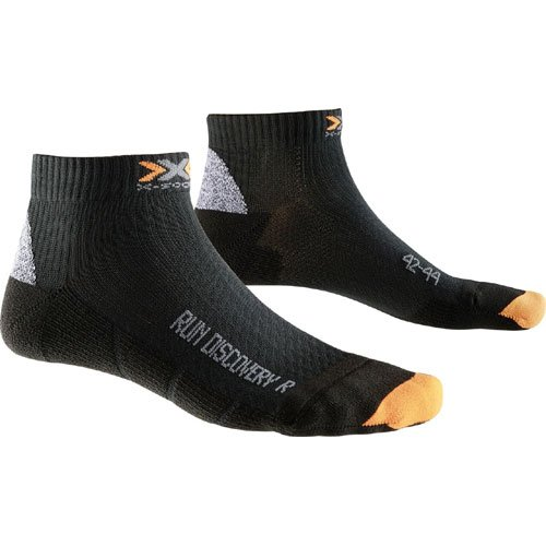 X-Socks Erwachsene Funktionssocken Run Discovery New, Black, 42/44, X100013