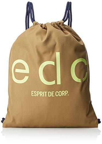 edc by Esprit Accessoires Herren 048ca2o001 Rucksack, Braun (Camel), 2x46x36 cm