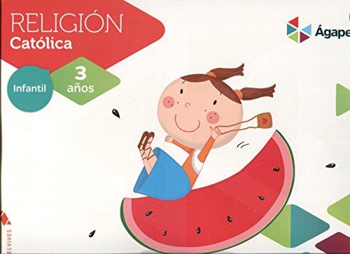Religión Ágape-Berit 3 años (Agape) - 9788414004616