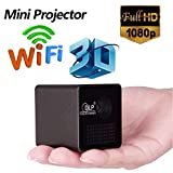Microware Unic P1 Plus Wifi Wireless Pocket Dlp Mini Projector 30 Lumens Micro