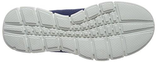 Skechers - EQUALIZER 2.0True Balance, Scarpe da ginnastica Uomo Blu (Blue (Nvlm - Navy Lime))