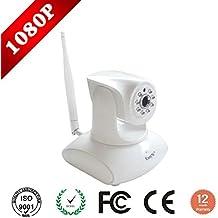 EasyN WIFI 802.11b/g/n cámara de vigilancia IP inalámbrica 2MP Mobile Sistema de seguridad cámara IP con visión nocturna y control de motor integrado