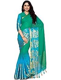 Mimosa By Kupinda Women's Chiffon Saree Kanjivaram Style (Latest Designer Sarees /Party Wear Sarees /New Collection...