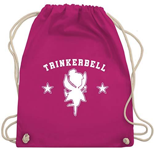 Kostüm Sprit - Karneval & Fasching - Trinkerbell Collegestyle - Unisize - Fuchsia - WM110 - Turnbeutel & Gym Bag