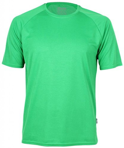 Funktionelles Unisex Sport & Training T-Shirt Rainbow Tech Teal