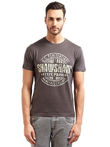 Redwolf Shawshank State Prison Graphic Printed Half Sleeve Cotton T-shirt