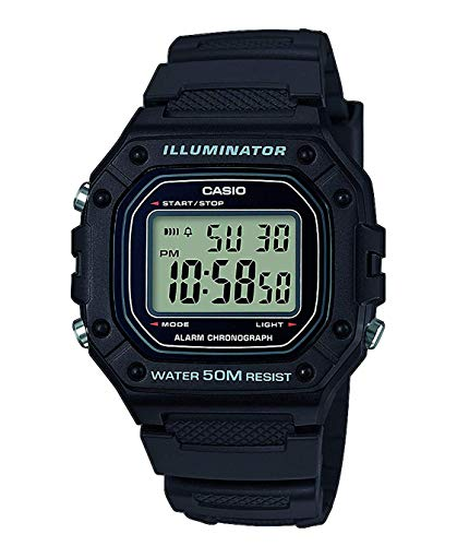 Casio Herren-Armbanduhr W-218H-1AVEF