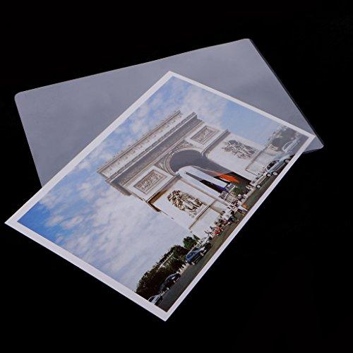 top-sell 10010,2x 15,2cm Laminat Film Thermo Laminierfolien glänzend Schützen Foto Papier - Thermo Foto Drucker