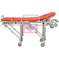 Soins d'urgence Ambulance en aluminium Support Jaune 191–011B 191-mayday
