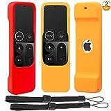 Carcasa de Silicona Antideslizante para Apple TV 4K de 5/ª Generaci/ón Siri Mando a Distancia de 4 K FineGood