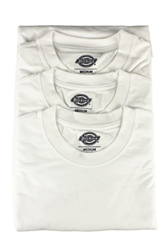 Dickies 06 210091 da uomo a maniche corte Crew Neck T Shirt, colore bianco Bianco bianco