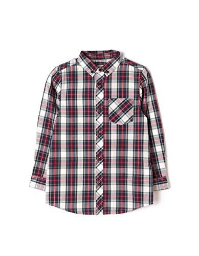 Zippy shirt ls check, camicia sportiva bambino, rosso (19/1656tcx/rio red 309 1020771), 12 anni (taglia produttore: 11/12)