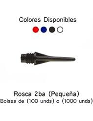 Puntas micro harrows 18. 3mm negra (100unid)