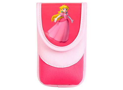Nintendo DS / DSi / DS Lite - Tasche für Konsole, Charakter Peach