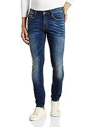 Superdry Mens Skinny Fit Jeans (5054265629297_M70004JNF4_36W x 32L_Brighton Blue)