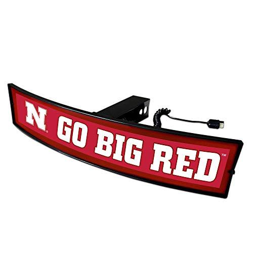 SLS Nebraska Cornhuskers Go Big Abdeckung für Anhängerkupplung, Rot -