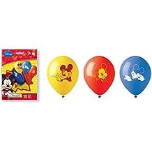 Siad – Juego de colores mickey mouse Club House 10 globos, multicolor, ...