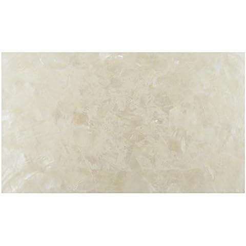 Precision Incudo IN1969 240 x 140 mm, motivo: Triangoli a mosaico in madreperla, laminato, fogli da impiallacciatura, colore: bianco