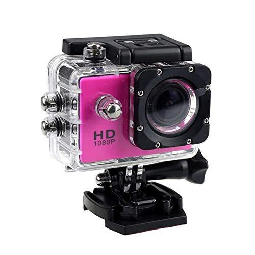 Tawcal Action Cam 4k - Fotocamera Subacquea 1080P LCD Full HD Sport Camera Impermeabile - 2 Batterie 1050mAh 170°Grandangolare e Kit Accessori per Ciclismo Nuoto e Altri Sport Esterni