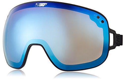 Spy Optic Bravo Objektiv, Herren, 103222000317, Happy Bronze with Dark Blue Spectra Lens, Einheitsgröße