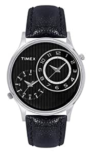 Timex Analog Black Dial Men's Watch - TI002B11200