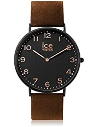 Ice-Watch - CITY Leyton - Montre marron mixte avec bracelet en cuir - 012814 (Medium)