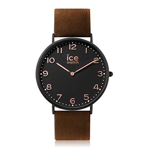 Ice-Watch - CITY Leyton - Montre marron mixte avec bracelet en cuir - 012814 (Medium)