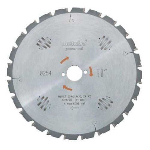 Preisvergleich Produktbild Metabo Kreissägeblatt HW/CT 190 x 20, 14 WZ 25 Grad , 628004000
