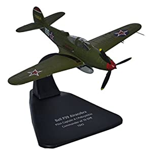 Herpa 81AC055 - Aviones, Fuerza aérea soviética Airacobra P 39 16 Pokryshkin TFG 1943 Verde