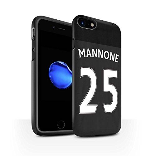 Offiziell Sunderland AFC Hülle / Matte Harten Stoßfest Case für Apple iPhone 7 / Jones Muster / SAFC Trikot Away 15/16 Kollektion Mannone