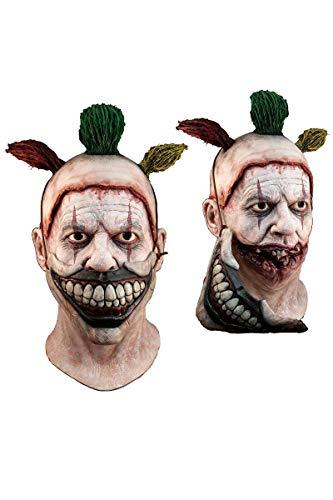 Clown Show Freak Kostüm - Unbekannt Générique mahal702-Vollmaske Latex Erwachsene-Twisty der Clown-Abnehmbarer-Einheitsgröße
